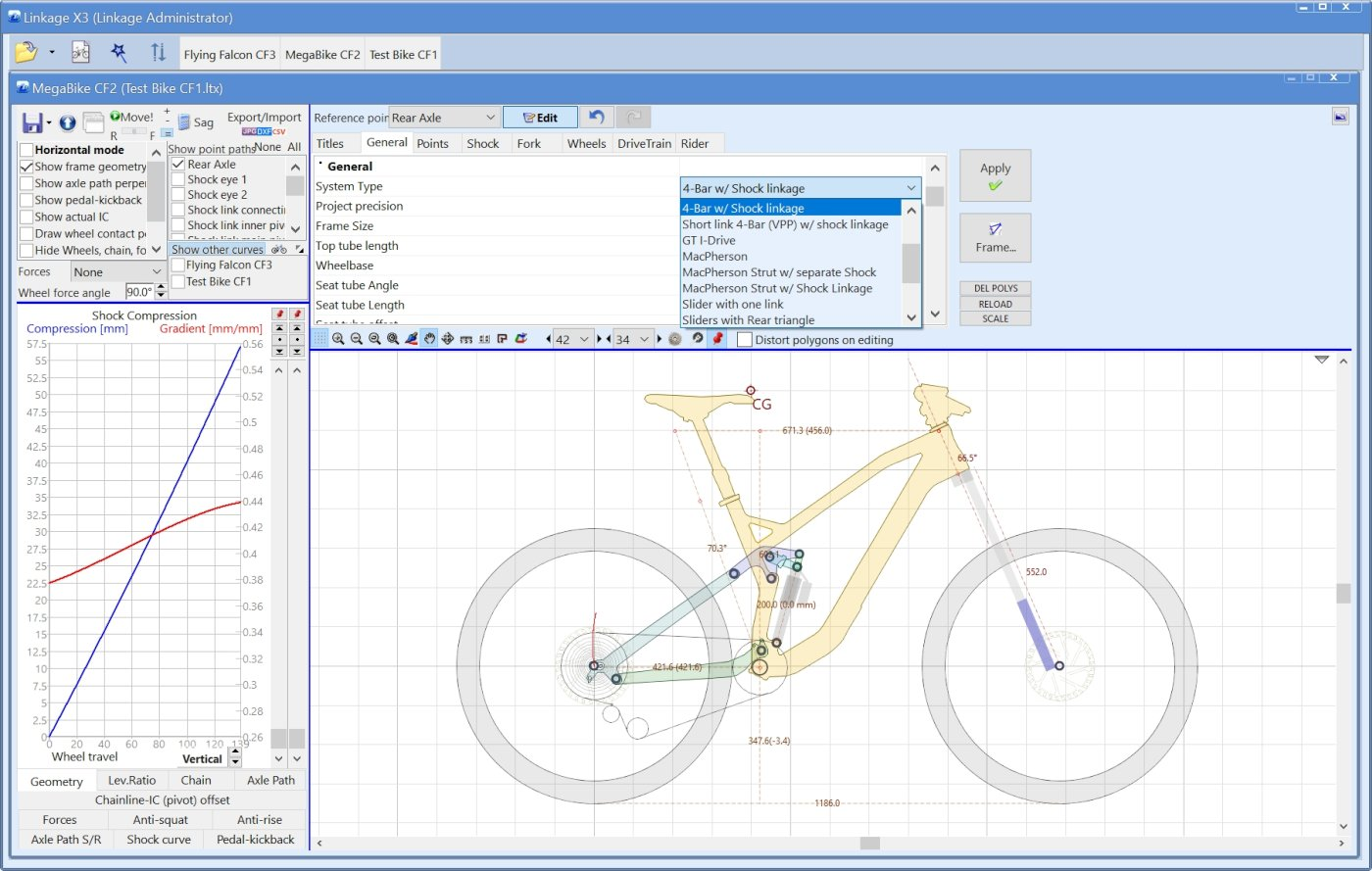 Linkage Suspension Bike Simulation And Design Software Home