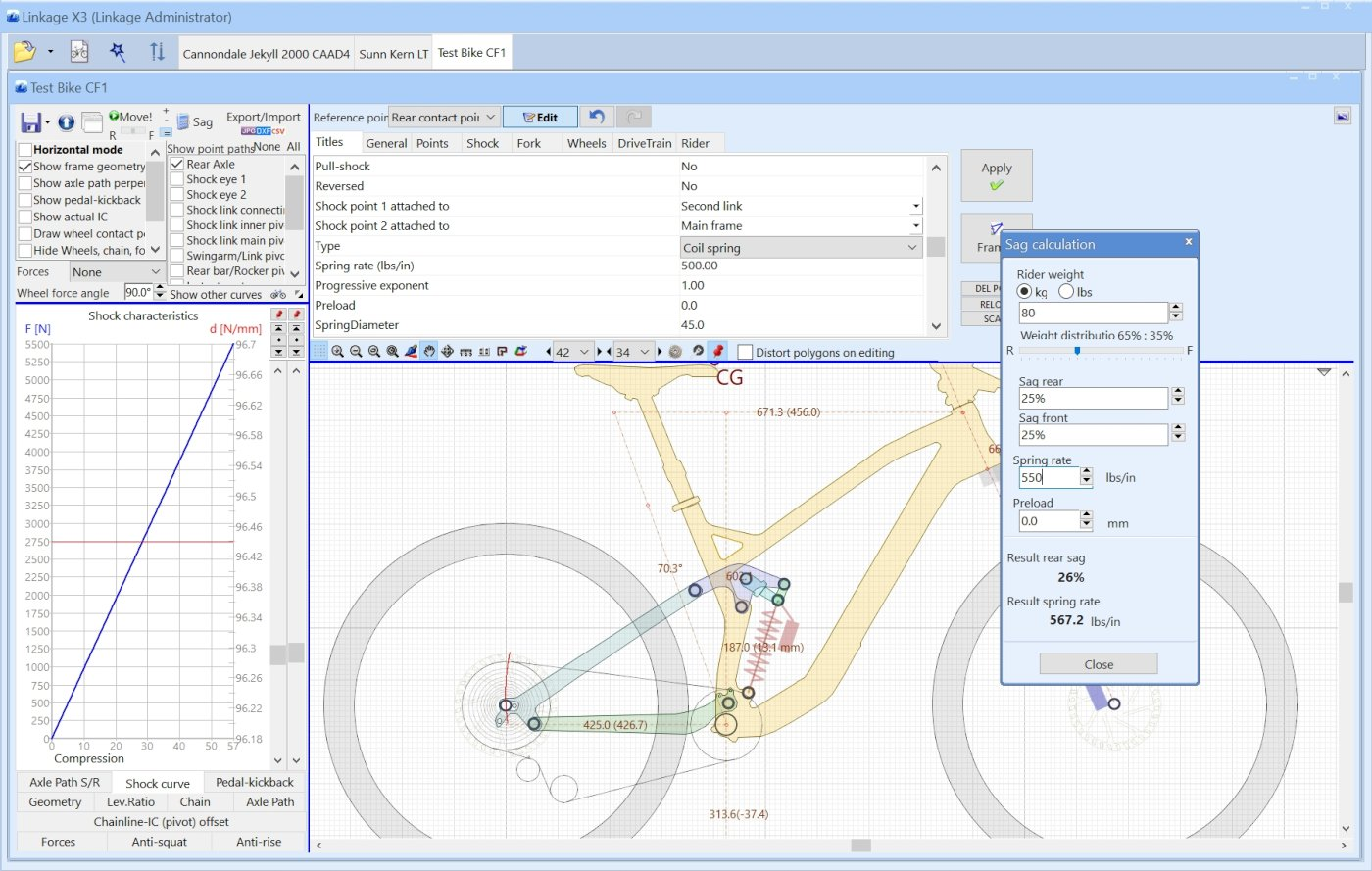 Linkage bike simulation software home some screenshots ccuart Image collections
